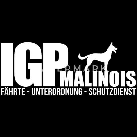 Malinois Schutzengel Mali Hund Hunde Hundespruch Pullover Hoodie