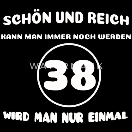 38 Geburtstag Lustiger Spruch Frauen Premium Kapuzenjacke