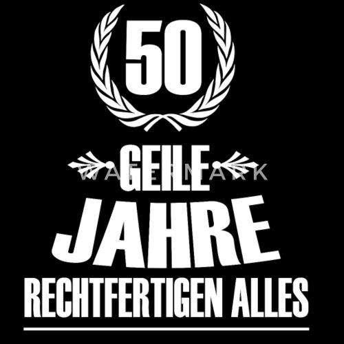 50 Geburtstag Frauen Premium Kapuzenjacke Spreadshirt