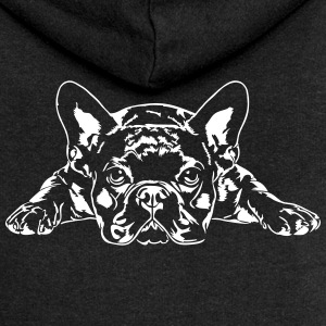 French Bulldog lying - French Bulldog - Women's Premium Hooded Jacket