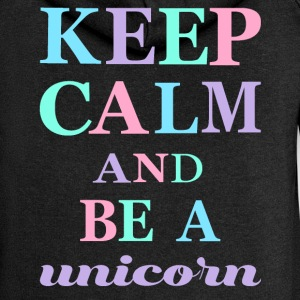 KEEP CALM AND BE A UNICORN - Women's Premium Hooded Jacket