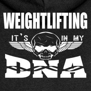WEIGHTLIFTING - It's in my DNA - Women's Premium Hooded Jacket