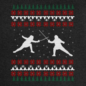 Fencing Ugly Xmas Sweater Gift Christmas - Women's Premium Hooded Jacket