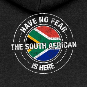 Have No Fear The South African Is Here Shirt - Women's Premium Hooded Jacket