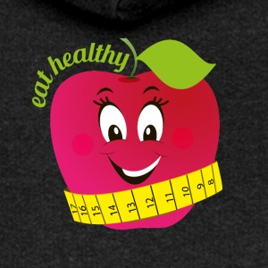 eat healthy - Women's Premium Hooded Jacket