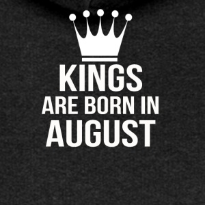 kings are born in august - Frauen Premium Kapuzenjacke