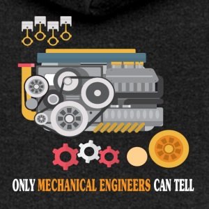Only Mechanical Engineers Can Tell - Funny T-shirt - Women's Premium Hooded Jacket