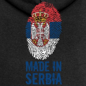 Fabriqué en Serbie / Made in Serbie Србија Srbija - Veste à capuche Premium Femme