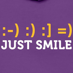 Just Smile! - Women's Premium Hooded Jacket