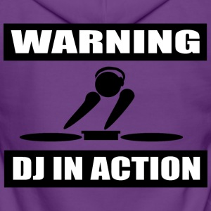 DJ ACTION - Women's Premium Hooded Jacket