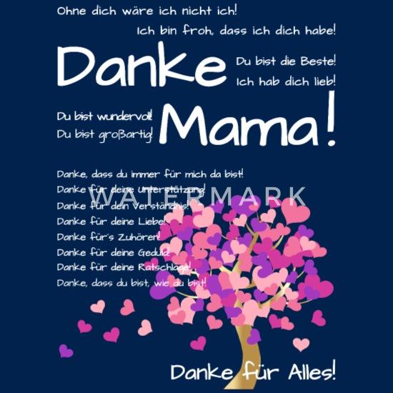Danke mama dass du immer für mich da bist