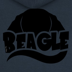 Beagle Silhouette - Women's Premium Hooded Jacket