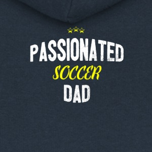 Distressed - Appassionata CALCIO DAD - Felpa con zip premium da donna