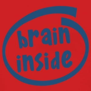 brain inside (1800C) - Women's Premium Hooded Jacket