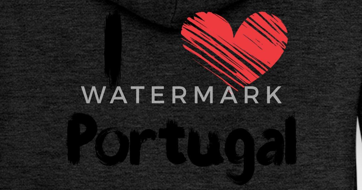 Capuche À Premium Love I Portugal Femme Spreadshirt Veste wCI7qW8
