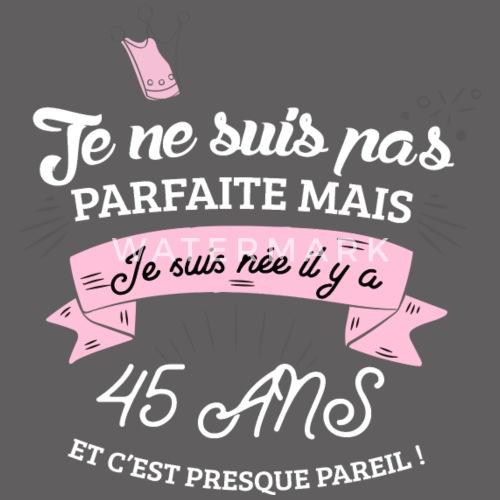 45 Ans Anniversaire Humour De Cadeau Noel Spreadshirt e0586f72127