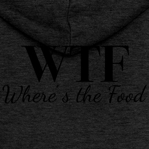 WTF - Where's the Food - Frauen Premium Kapuzenjacke