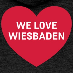 we love wiesbaden - Frauen Premium Kapuzenjacke