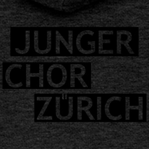 Young Choir Zurich Logo - Women's Premium Hooded Jacket