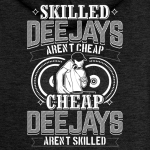 DJ SKILLED DEEJAYS ARENT CHEAP - Women's Premium Hooded Jacket