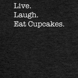 Live Laugh Cupcakes - Women's Premium Hooded Jacket