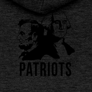 Patriots Patriot USA American Presidents - Women's Premium Hooded Jacket