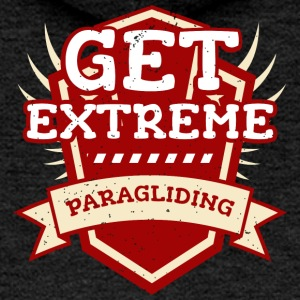 Get Extreme Paragliding T-shirt Flying Flying - Women's Premium Hooded Jacket