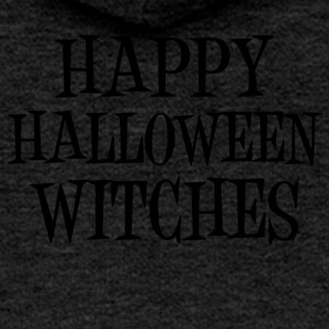 Happy Halloween Witches Pumpkin Witch Witch Vodoo - Women's Premium Hooded Jacket