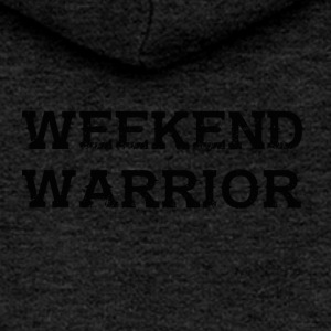 Shirt Weekend Warrior Weekend Party - Women's Premium Hooded Jacket
