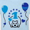 One year old - Happy First Birthday Party ! 1 - Kids' Organic T-shirt