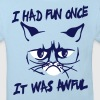 I had fun once, it was awful - Kids' Organic T-shirt