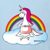 Yoga Unicorn - Kids' Organic T-shirt