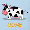 Cow T-shirt for Kids - Organic Cotton - Kids' Organic T-shirt