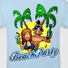 Beach party - Kinderen Bio-T-shirt