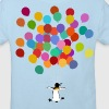 Pinguin fliegt - Kinder Bio-T-Shirt