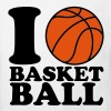 I Love Basketball - T-shirt bio Enfant