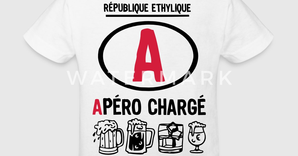 permis a picoler alcool apero charge ver av c2b spreadshirt. Black Bedroom Furniture Sets. Home Design Ideas