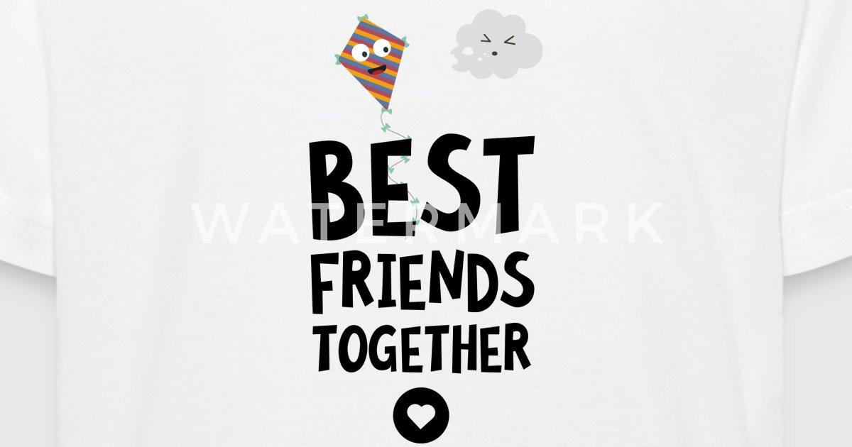 Kite und Cloud beste Freunde Herz S6fhh von Kelzo   Spreadshirt