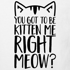 You got to be kitten me right meow?