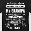 Dear Grandpa, Love, Your Favorite - Kids' Organic T-shirt