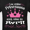 Avril - Princess - Anniversaire - 2 - T-shirt bio Enfant