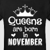 November - Queen - Birthday - 1 - Kids' Organic T-shirt