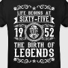 1952 - 65 years - Legends - 2017 - Kinderen Bio-T-shirt