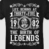 1982 - 35 years - Legends - 2017 - Camiseta ecológica niño