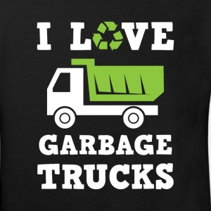 I love Garbage Trucks - fan recycle