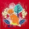 Animal Planet Too Cute Fox Illustration - Kids' Organic T-shirt