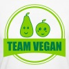 team vegan - Frauen Bio-T-Shirt