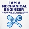 I am an engineer and I m always right! - Women's Organic T-shirt