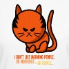 grumpy cat - i don't like morning people - T-shirt bio Femme