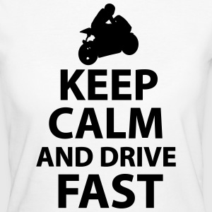 Keep Calm And Drive Fast - Women's Organic T-shirt